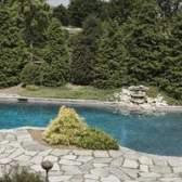 Uma concha de piscina de fibra de vidro pode ser instalado acima do solo?