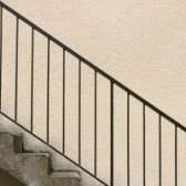 Exigências do código para corrimãos em escadas exteriores