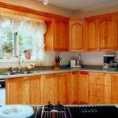 Cores para complementar armários de carvalho mel