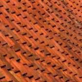 As cores frescas telhado