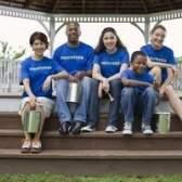 Organizações famosas voluntários
