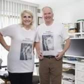 Presente para o 46º aniversário de um casal