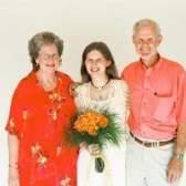 Avós celebrações do dia na igreja