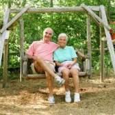 Balanços caseiros adulto jardim de quintal