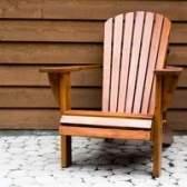 Adirondack cadeiras de pau-brasil caseiro