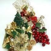 Como posso fazer peças centrais de Natal fresco de log?