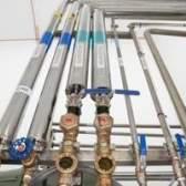 Como para o cálculo do peso de água em um tubo vertical