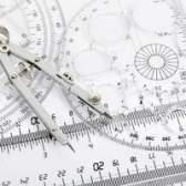 Como para calcular o raio da circunferência