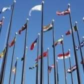 Como exibir uma bandeira de outro país