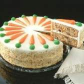 Como congelar bolo de cenoura