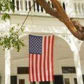 Como pendurar uma bandeira da bandeira americana
