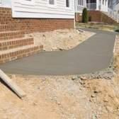Como instalar uma calçada de concreto