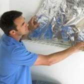 Como instalar o duto de isolamento envoltório