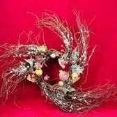Como fazer coroas galho caseiros