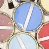 Como pintar uma mesa com tampo de vidro