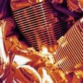 Como polir as barbatanas em um motor de alumínio
