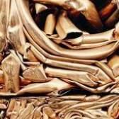 Tubulação de cobre como re-round