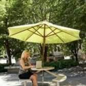 Como substituir o dossel para um guarda-chuva ao ar livre