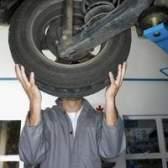 Como substituir os rolamentos de roda em um escape de 2002 ford