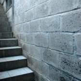 Como para selar uma fundação de blocos de concreto