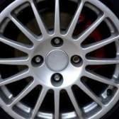 Como a brilhar rodas de alumínio maçante
