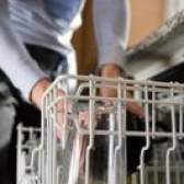 Como parar o resíduo branco em pratos a partir de uma máquina de lavar louça