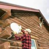 Como utilizar uma antena de tv direta para obter serviço de rede do prato