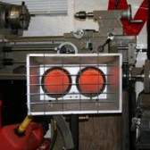 Perigos aquecedor de infravermelhos