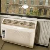 Instalação de janelas de alumínio de ar condicionado