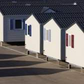 Os materiais utilizados na paredes exteriores em trailers móveis