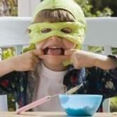 Artesanato tartaruga ninja do miúdo