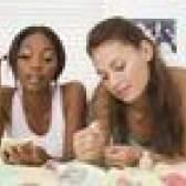 Atividades do partido para meninas adolescentes