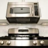Over-the-range dimensões padrão forno de microondas
