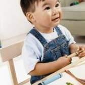 Artesanato da escola dominical para isaac bebê