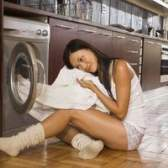 Os melhores armários para uma lavandaria