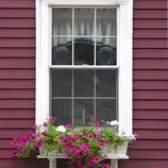 As cores tradicionais externa da casa