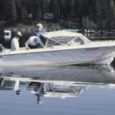 Quando deve o ventilador ser operados em barcos movidos a gás?