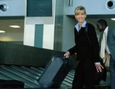 Uma lista de itens permitidos na bagagem