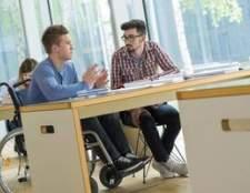 Requisitos para mobilidade reduzida para estar em sala de aula