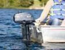 Todos os tipos de motores de barco