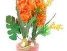 Flores falsas para o exterior