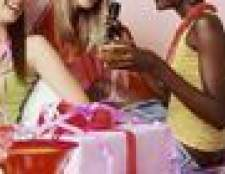 Presente de aniversário para uma menina de 21 anos de idade
