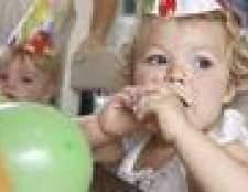 Idéias para aniversário de 1 ano de idade