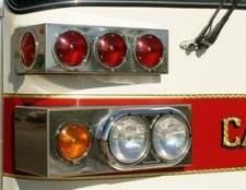 Leis da califórnia sobre as luzes da polícia