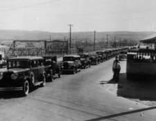 Carros no início do século 20