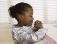 Boas orações da noite católicas para crianças