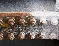 Produtos químicos utilizados para remover a ferrugem e corrosão