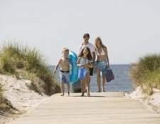 As atividades infantis na costa oriental