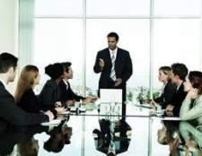 Composição de um conselho de administração