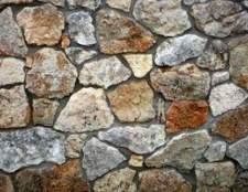 DIY instalação de verniz de pedra para uma lareira